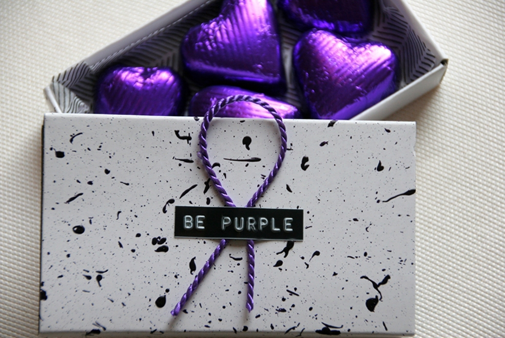 be-purple-party-gastgeschenke