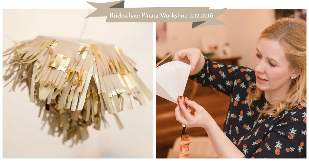 Rückschau Pinata Workshop