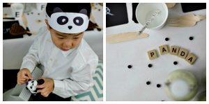 Kindergeburtstag- und Faschings-Idee: Pandaparty