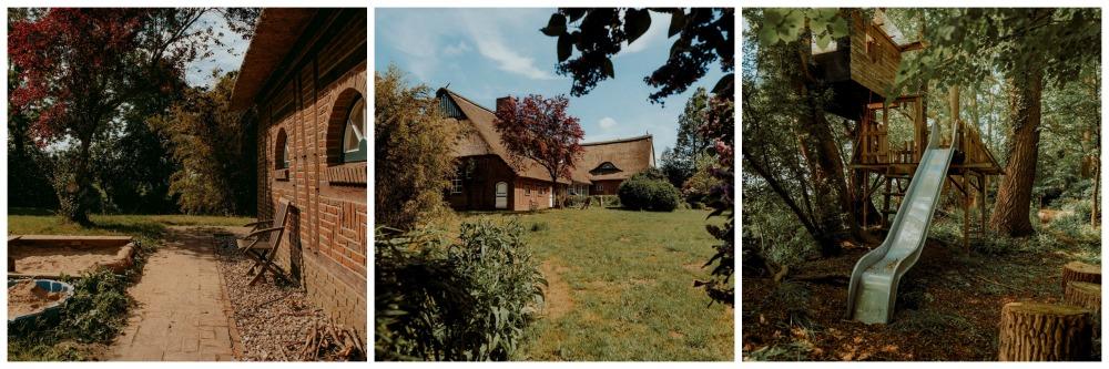 Außenflächen Landhaus Kurzenmoor