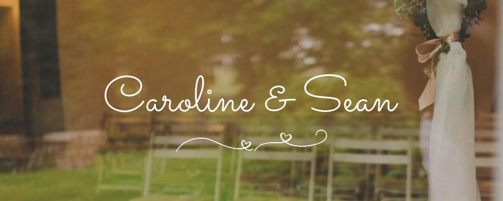 Header Caroline und Sean