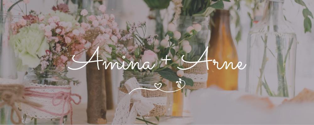 Header Amina und Arne