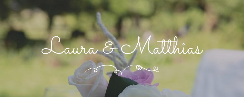 Header Laura und Matthias