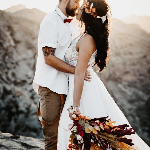 Brautpaar in der Natur, Sarah Russ