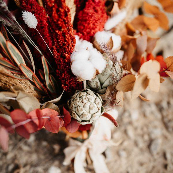 Blumenbouquet Trockenblumen, Sarah Russ